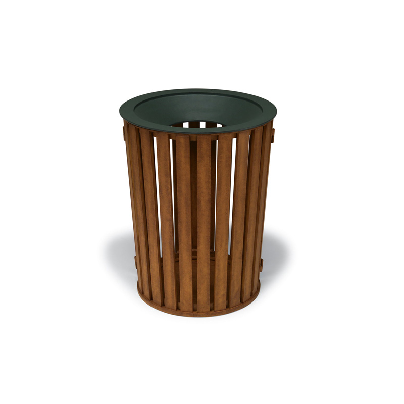 Urbanscape 32 Gallon Receptacle with Liner and Flat Top ...