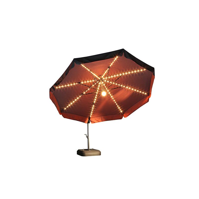 patio umbrella 11 5 ft cantilever with light krt concepts patio furniture. Black Bedroom Furniture Sets. Home Design Ideas