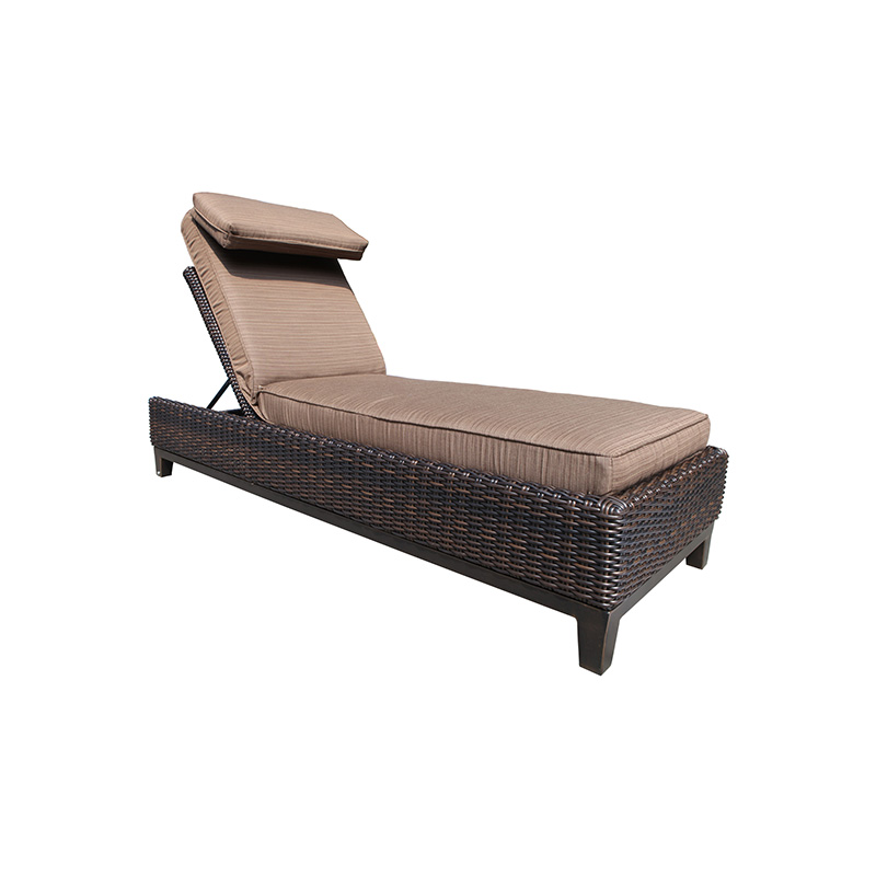 Columbia chaise lounge krt concepts patio furniture for Cabana chaise lounge