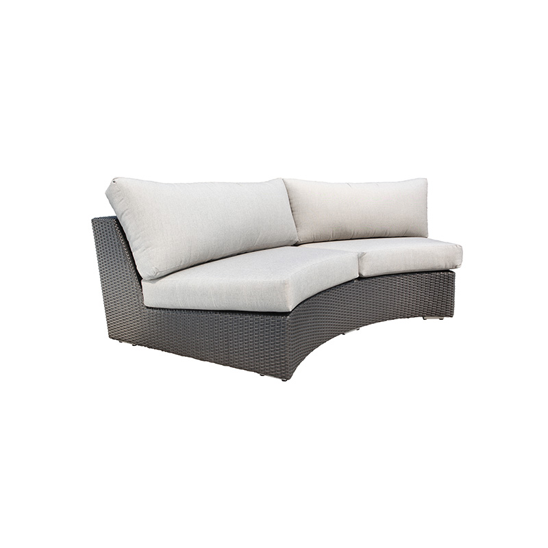 Chorus Round Sectional Curved Sofa Krt Concepts Patio
