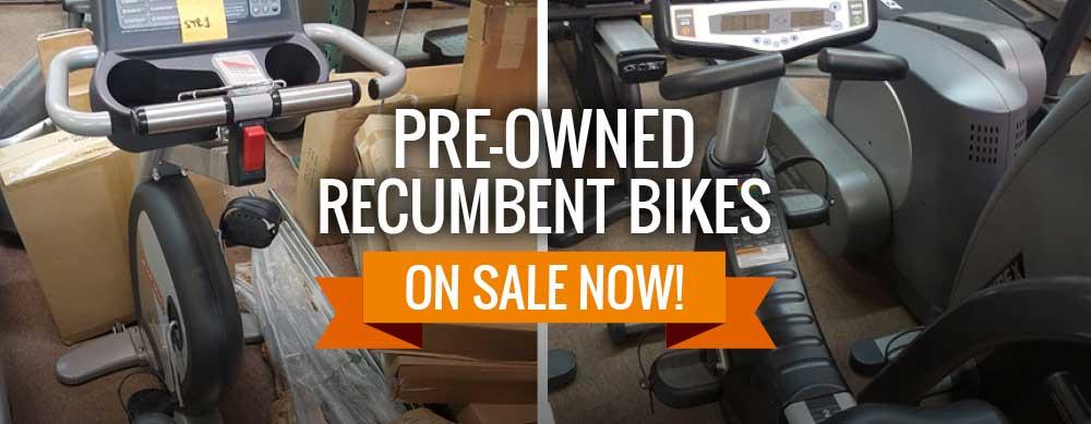 Pre-Owned Recumbent Bikes